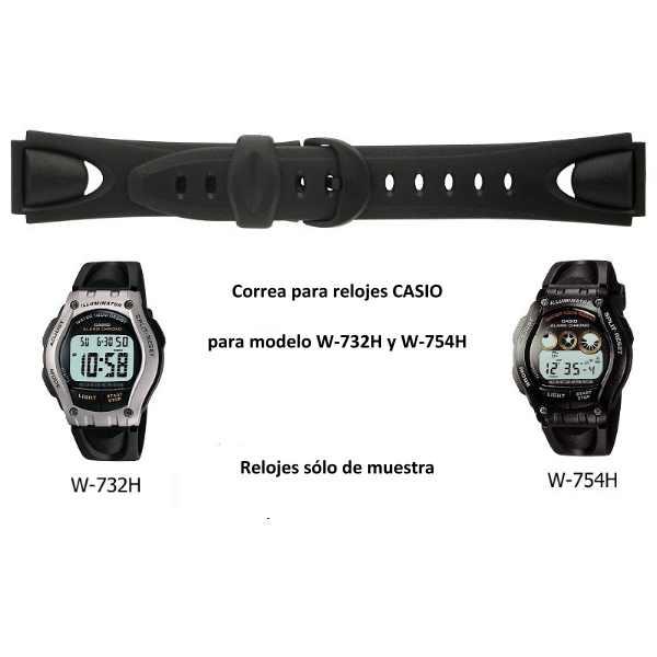 Mallas para relojes CASIO en Nippon Argentina