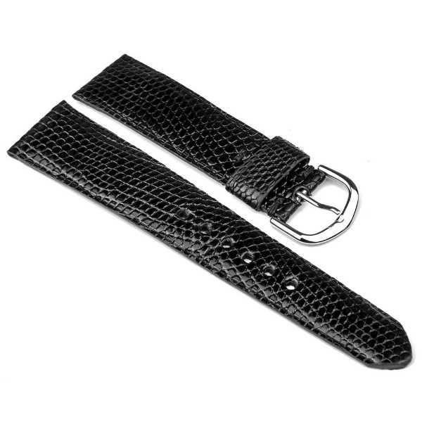 Mallas de lagarto legítimo para relojes de lujo