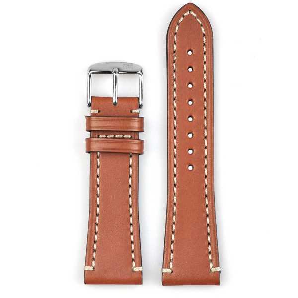 Malla de cuero premium para relojes de alta gama