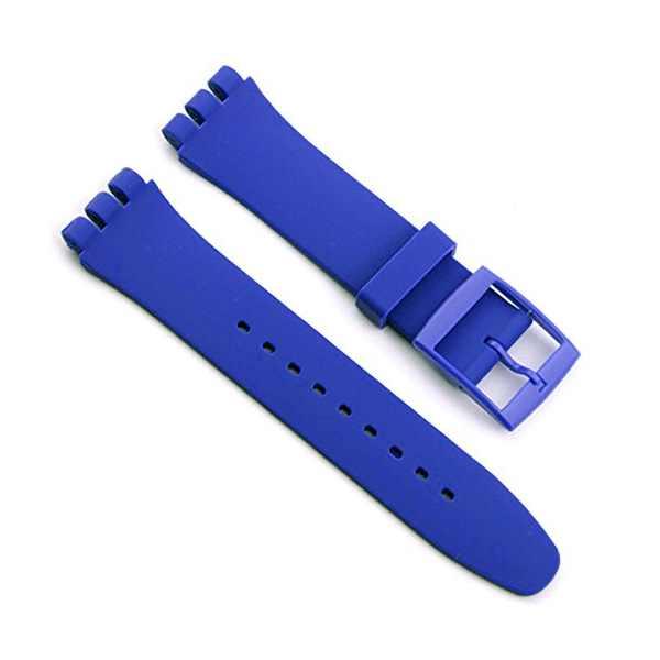 Malla SWATCH alternativa 19 mm Azul